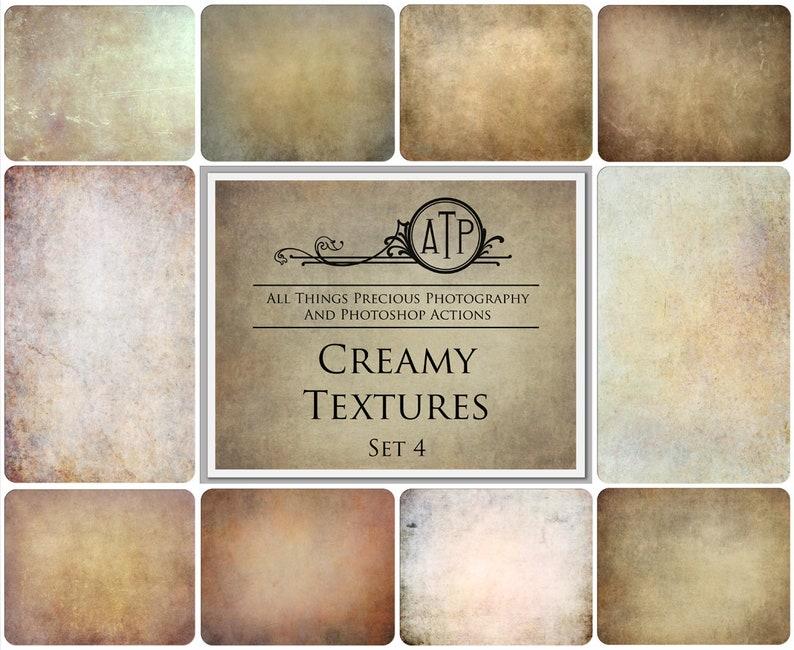 10 High Res CREAMY Digital TEXTURES / Overlays Set 4 / Photography /  Scrapbooking / Digital / Background / Fine Art / Photoshop