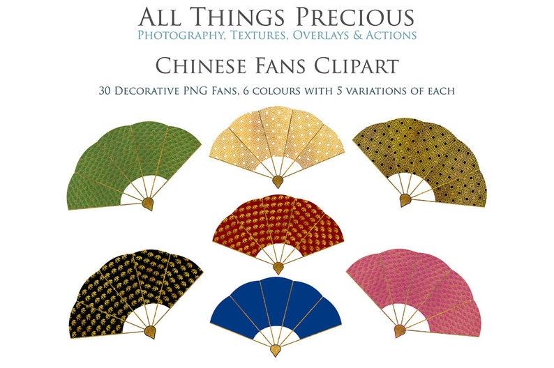 b9edc91301 30 wysokiej jakosci clipartów chińskich fanów PNG złote