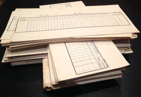 10 hojas de oficina antiguas en blanco for Oficinas de american express