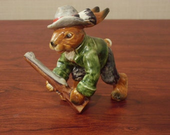 Vintage Royal Doulton Hunting Rabbit Figurine