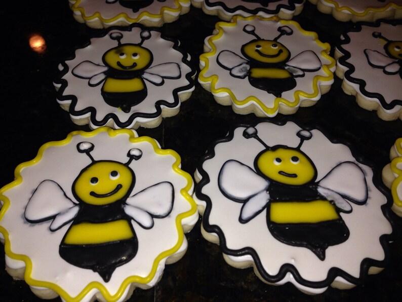 Bumble Bee Cookies