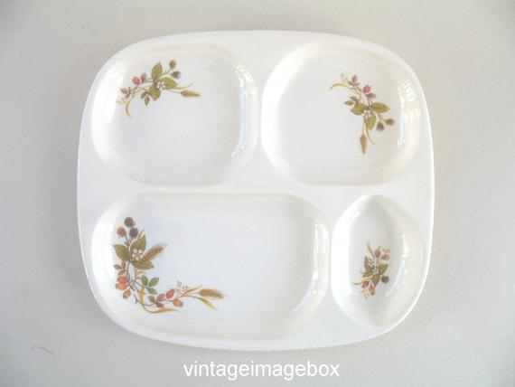 1x Vintage St Michael Harvest Pattern Dinner Plate