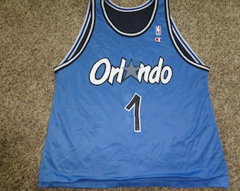 9202c07dc4c Vtg Reversible Penny Hardaway Orlando Magic NBA Champion Jersey Sz Men s 44  L