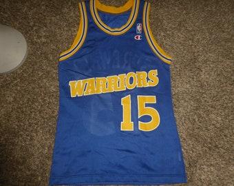 19f7e60de Vtg Latrell Sprewell Golden State Warriors NBA Champion Jersey Sz Men s 36 S