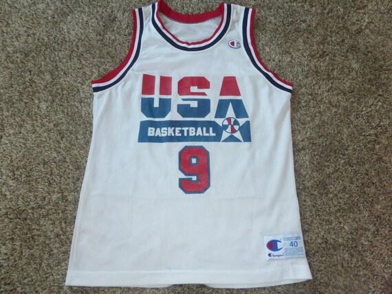 Vtg Michael Jordan USA Olympics Dream Team NBA Champion Jersey  3383afe0e