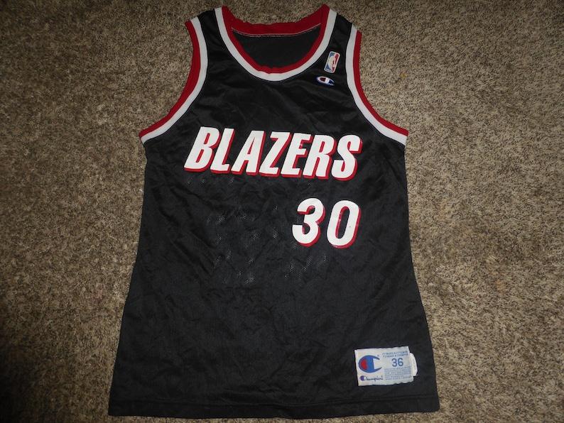 4f42be8a1ab5 Vtg Terry Porter Portland Trail Blazers NBA Champion Jersey Sz