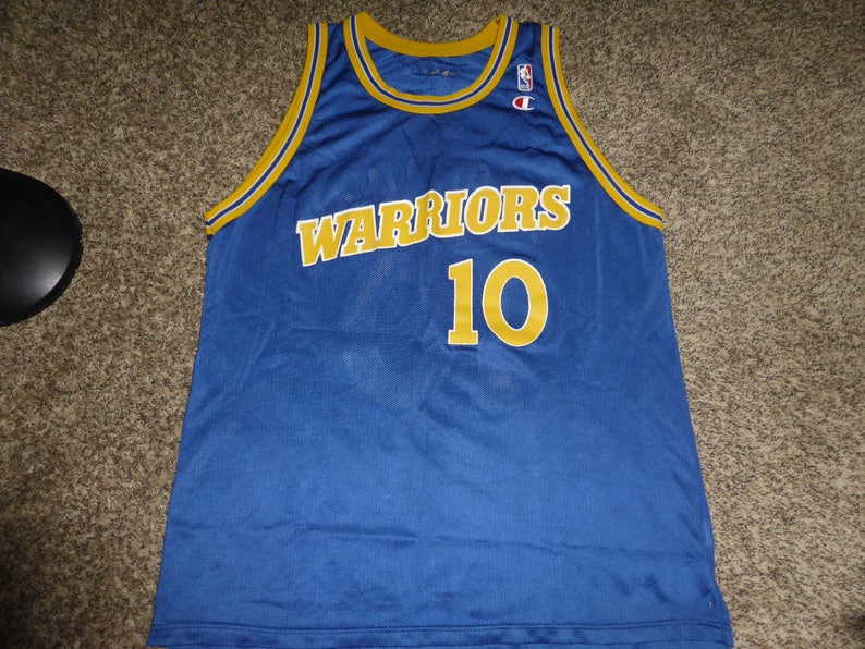 wholesale dealer 464b9 fc8c8 Vtg Tim Hardaway Golden State Warriors NBA Champion Jersey Sz Men's 48 XL