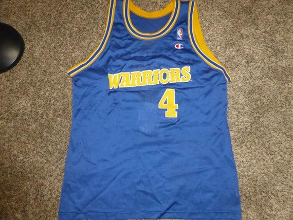 6590ac03a Vtg Chris Webber Golden State Warriors NBA Champion Jersey Sz