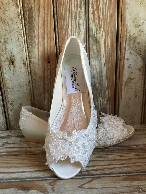 White satin Demoiselles D/'honneur Mariage Filles Fleur Communion appartements Pompes Chaussures LUCY