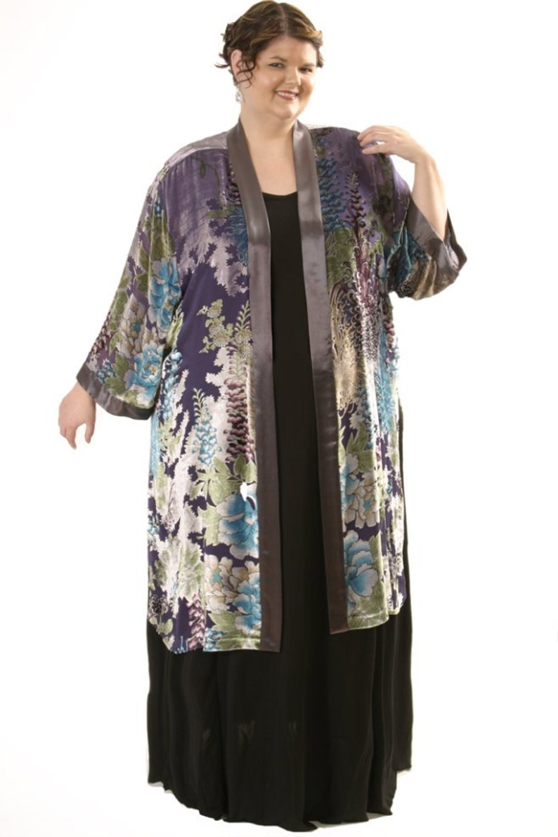 3c05719a572 Plus Size Wedding Guest Dress Kimono Jacket Turquoise Silver