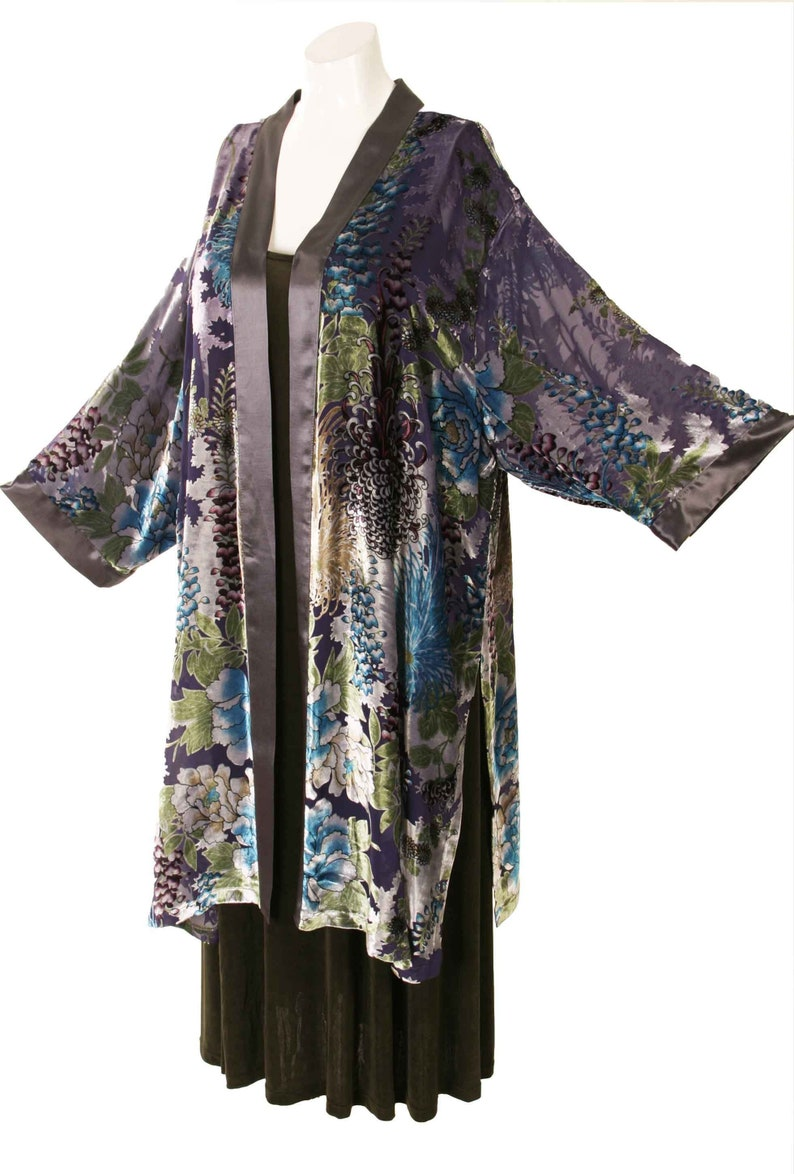 c18c67e0bccc2 Plus Size Mother of Bride Dress Kimono Jacket Turquoise Silver
