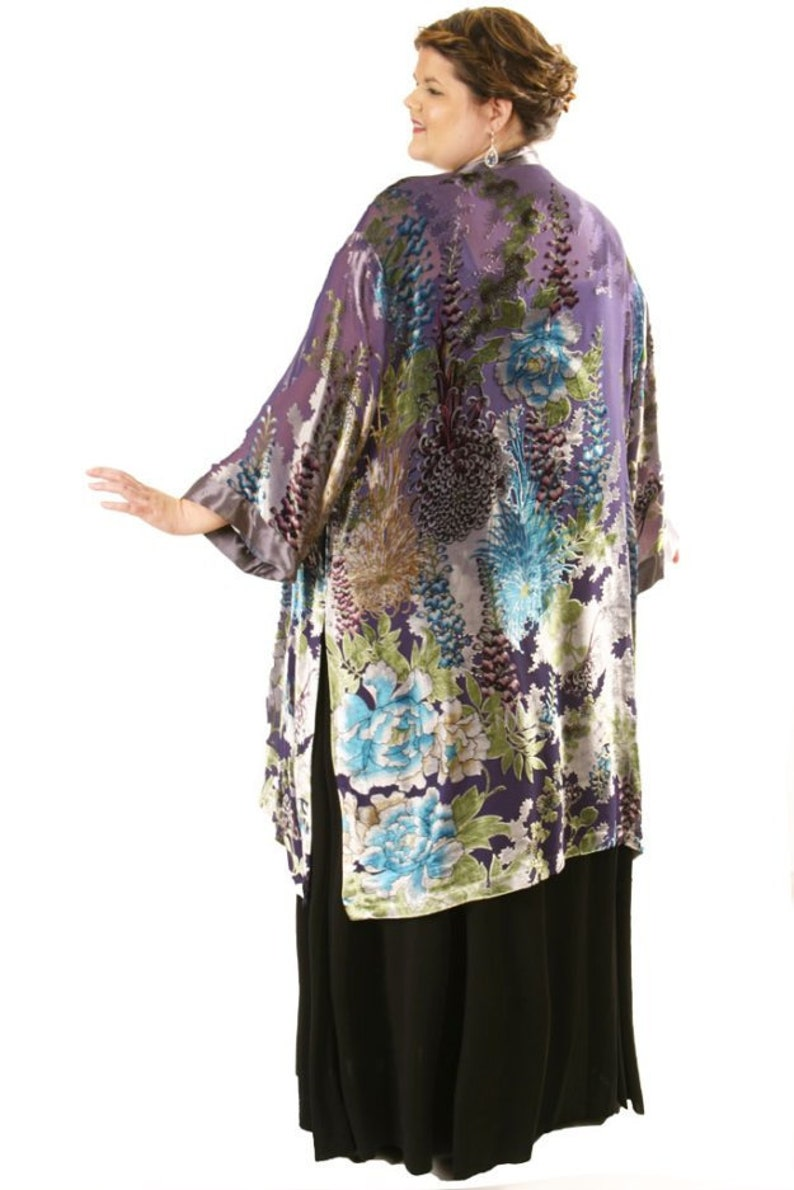 dbe0b6130f5d Plus Size Wedding Guest Dress Kimono Jacket Turquoise Silver