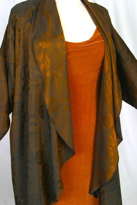 1dc97adc1ac Plus Size Mother of Bride Coat Copper Brass Black Vietnamese