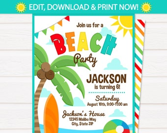 shark party invitations shark birthday party invitation etsy