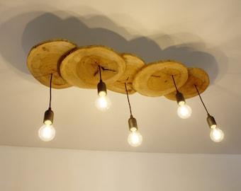 Lampadario Plafoniera Rustico Ferro Battuto : Lampada lampadario plafoniera ferro battuto luci brunito o