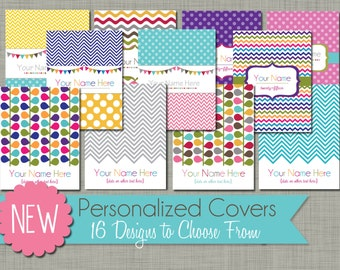 Personalized Planner Cover Page {Printable} - PDF
