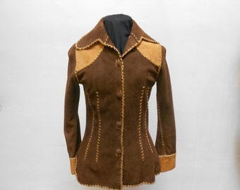 vintage 70s north beach leather