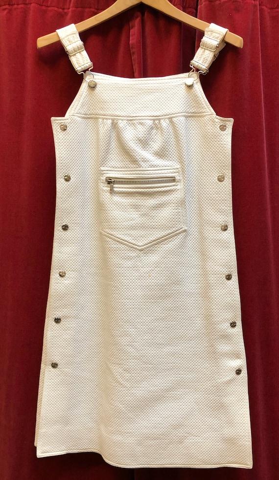 Vintage Courreges white dress 70s