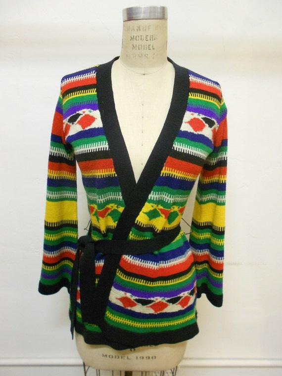 vintage organically grown by arpeja sweater jacket