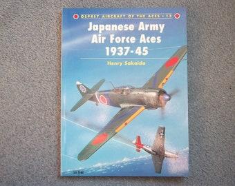 4aa23316bb7d Livre de japonais Army Air Force Aces 1937-45, Balbuzard pêcheur, avions  des Ace 13