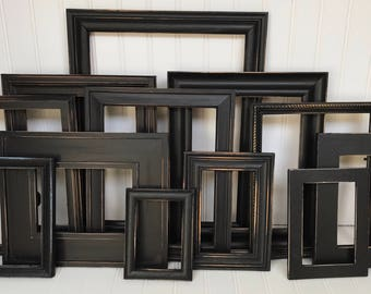 The Raven - Modern Farmhouse, distressed frames, Decor, Desk Accessories, French Country, Picture Frames, Wall Hanging, Gothic decor