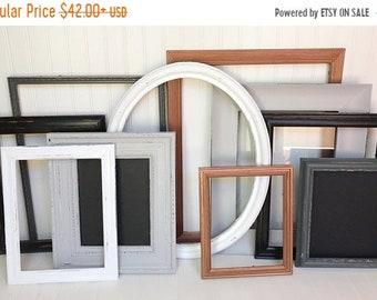 Gallery Wall Decor, Lake House Decor, Vintage Frames, Wood Picture Frame, Nursery Wall Decor, Wall Hanging, Vintage Frames, Nursery Decor
