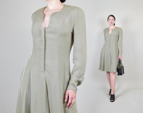 1990's Giorgio Armani Dress | Vintage Armani Dress | 90s Giorgio Armani Le Collezioni Dress