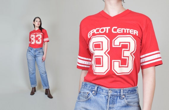 1980's Epcot T Shirt | Vintage Epcot Jersey T Shir