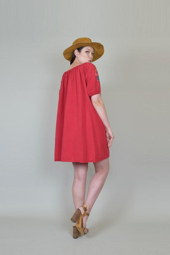 Vintage Embroidered Peasant Dress | Embroidered M… - image 10