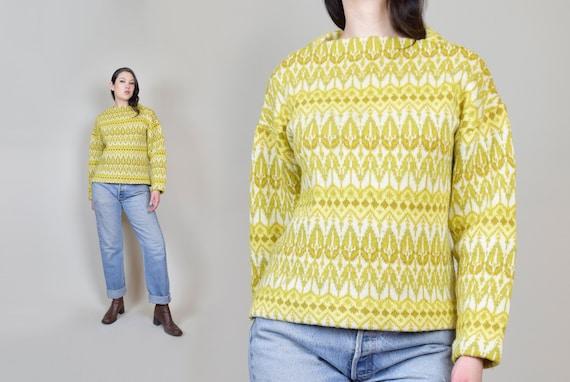 Vintage Icelandic Wool Sweater | Jersey Modeller I