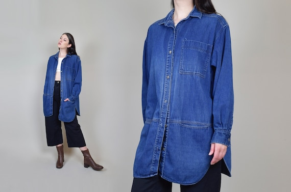 Vintage Calvin Klein Denim Chore Jacket | Faded De