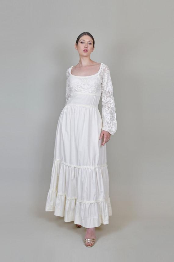 1970's Gunne Sax Wedding Dress | Vintage Gunne Sa… - image 9