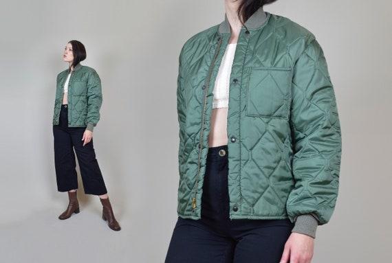 Vintage Quilted Liner Jacket | Military Liner Jack