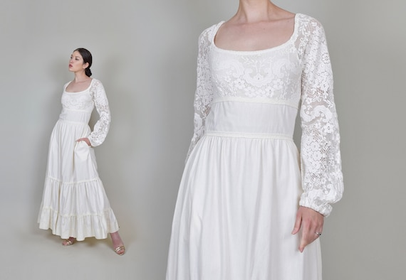 1970's Gunne Sax Wedding Dress | Vintage Gunne Sa… - image 3