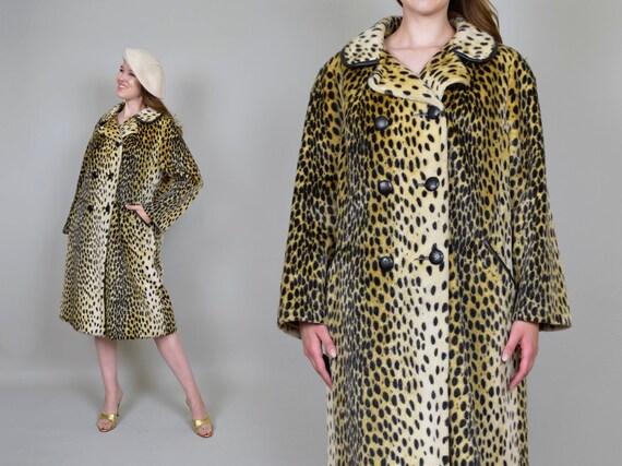 1950's Leopard Print Coat | Safari Leopard Print C