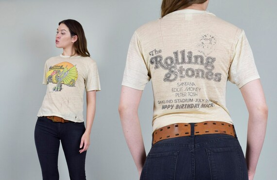 Rolling Stones 1978 Day on the Green Dragon T Shir