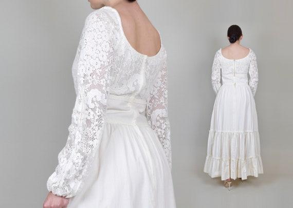 1970's Gunne Sax Wedding Dress | Vintage Gunne Sa… - image 7