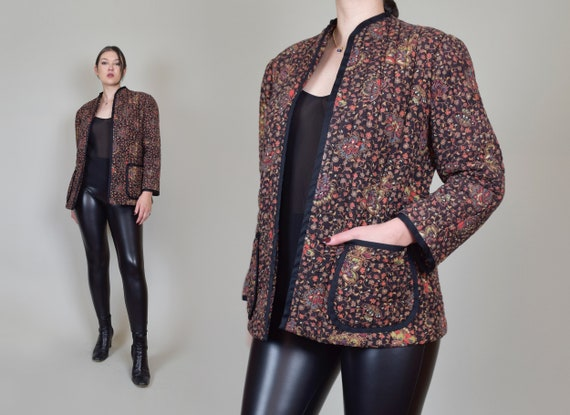 Vintage Quilted Jacket | 1970's Quilted Jacket