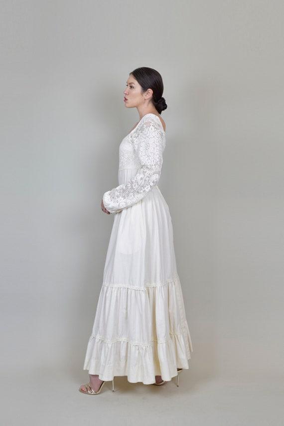 1970's Gunne Sax Wedding Dress | Vintage Gunne Sa… - image 6