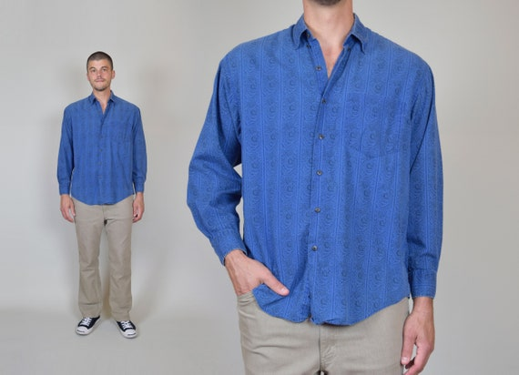 90's Gap Tapestry Print Shirt | 90's Gap Button Down
