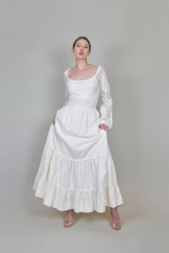 1970's Gunne Sax Wedding Dress | Vintage Gunne Sa… - image 4