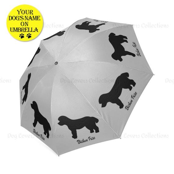 Parapluie enfant Chien chiot personnalisé avec prénom
