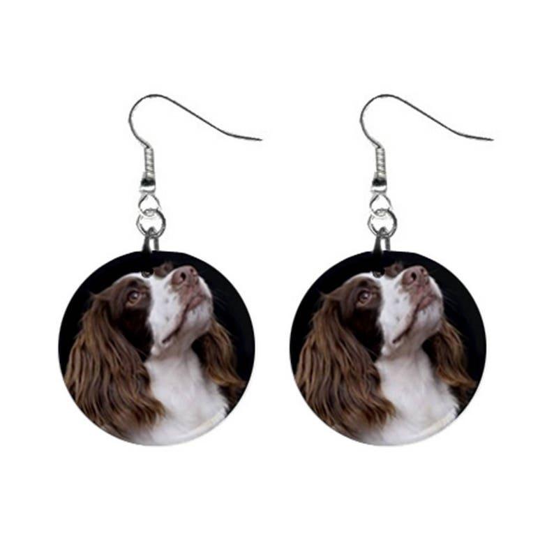 Gravestone hook earrings