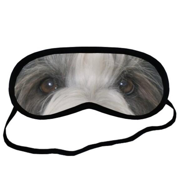 PUG EYES SLEEP MASK S Size Funny Eye Mask for Boy Girl Mops Dog Lover Gift Stuff