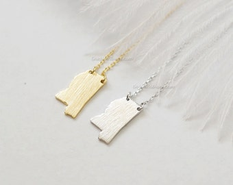 Crystal Necklace Trending Items Gold Statement Drop Necklace MSU Football Necklace Mississippi State Cowbell Necklace Women/'s Jewelry