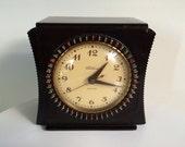 Telechron 8H55 Art Deco Bakelite Table Clock