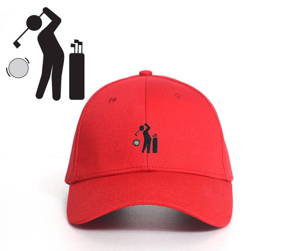 64e43b98f2d Hole in one  Embroidered Dad Cap   Dad hat   Baseball Cap