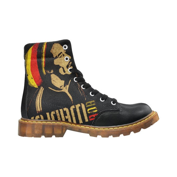 f5530290e9b Rasta / Bob Marley / doc martin shoes / black doc martens /walking boots /  best hiking boots
