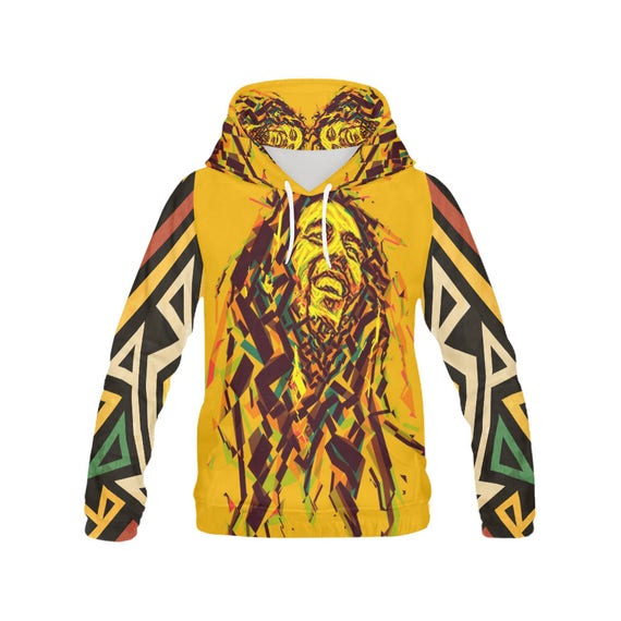 6fa7a0ba7028f Rasta / Bob Marley Hoodie / Custom hoodies / Hoodies for men / Cool hoodies  for men / Hoodie