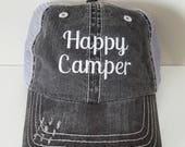 Happy Camper Embroidered ...